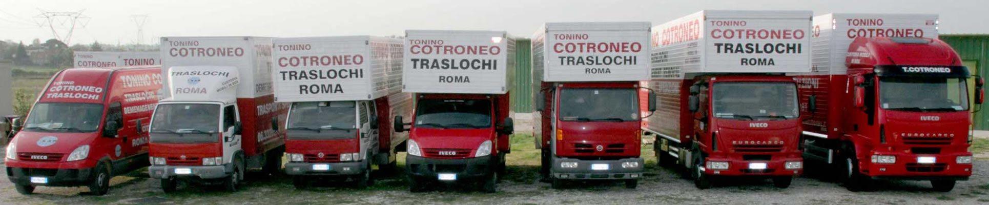 Mezzi di trasporto per Traslochi