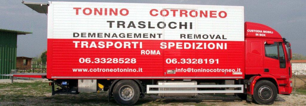 TONINO COTRONEO TRASLOCHI